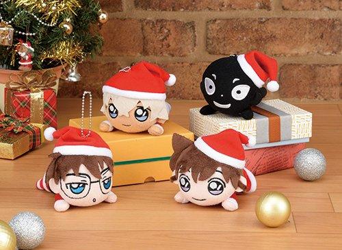 名探偵コナン 寝そべりキーチェーンマスコットクリスマス2018