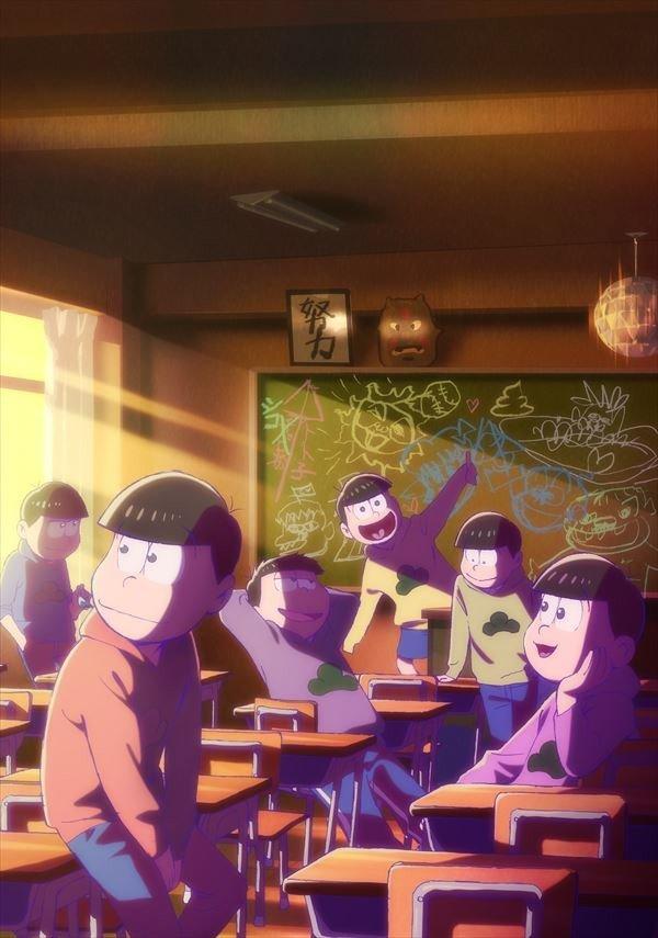 劇場版「えいがのおそ松さん」ポスタービジュアル