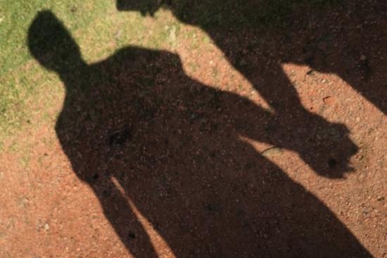 人物の影の画像