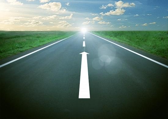 成功への道のイメージ