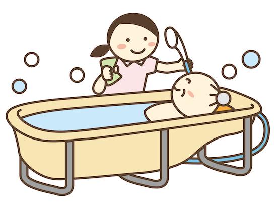 訪問入浴のイラスト