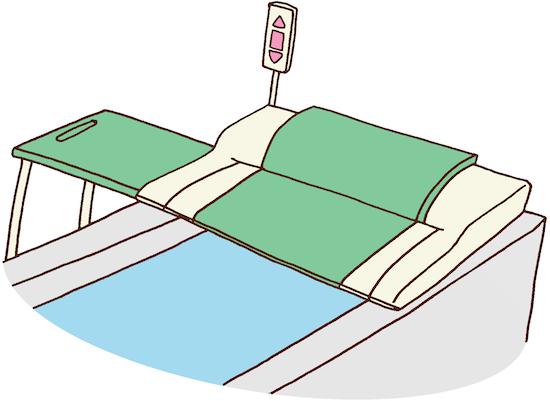 介護用お風呂のイラスト
