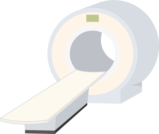 CT検査のイラスト