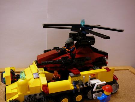 偵察用ヘリ輸送トラック 008