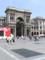 ミラノ イタリア Duomo前広場