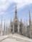 ミラノ イタリア Duomo屋上
