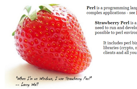 How to install Strawberry Perl