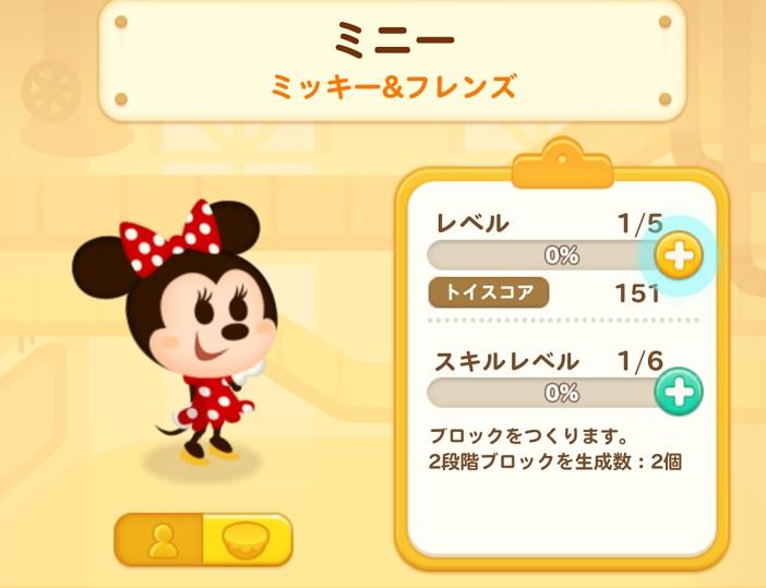 ディズニートイカンパニーのミニーマウス