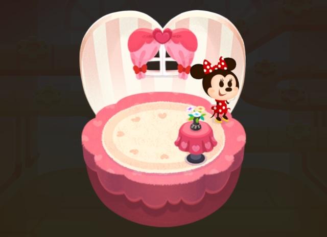 ミニーマウスのトイハウス
