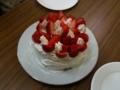 子ども達とケーキを作りました。その1