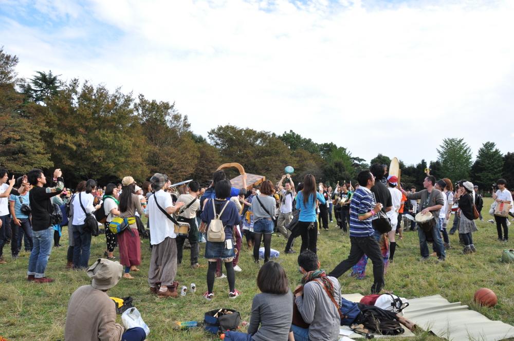 井の頭公園 オーケストラ TOKYO-FUKUSHIMA!