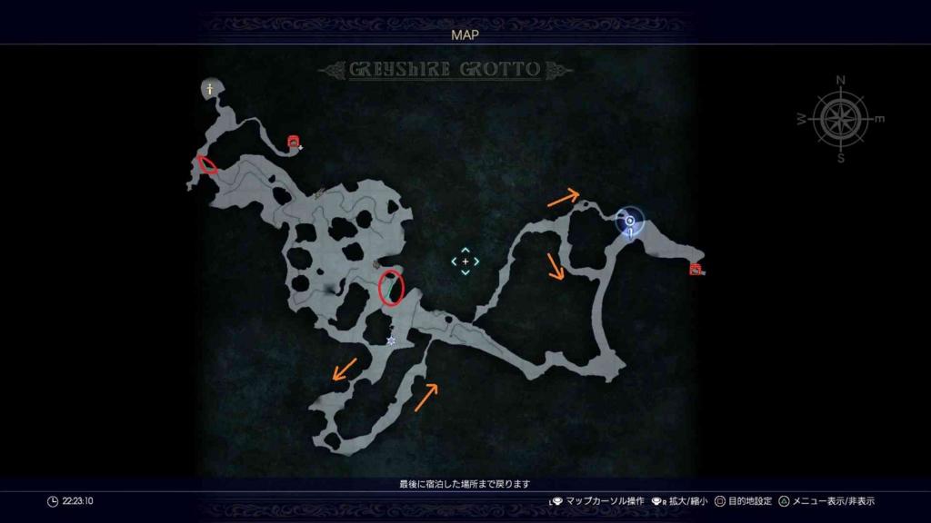 攻略マップ