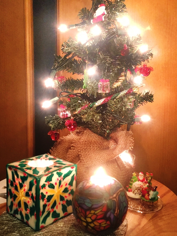 クリスマスツリー キラキラペンULKA