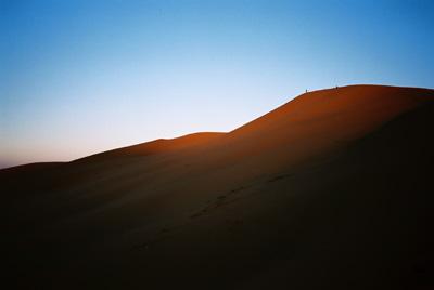Morocco, the rising sun