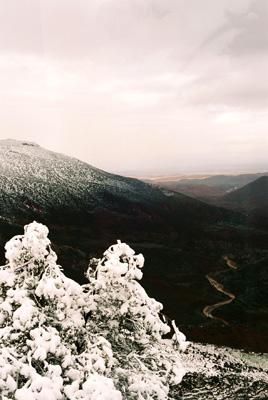 Morocco, snow
