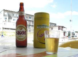 Brazil, beer