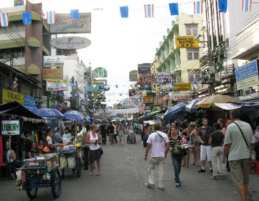 Thai, Khaosan