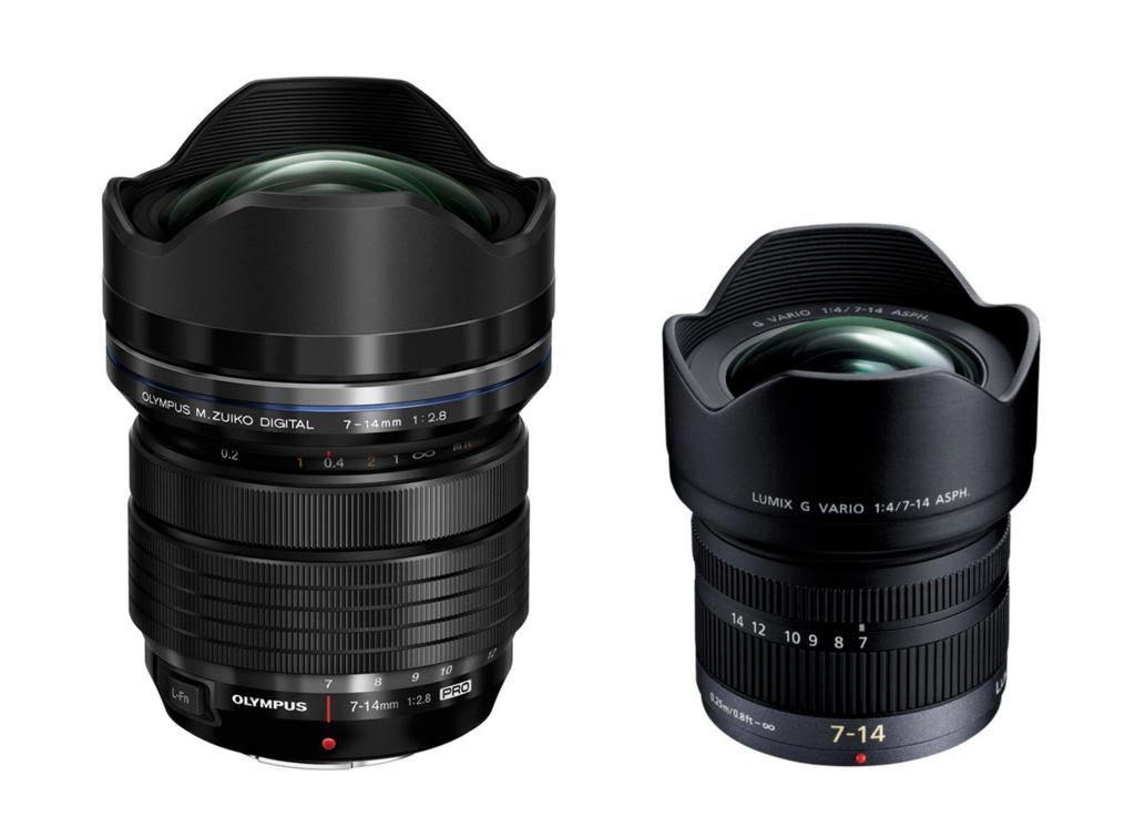 f:id:photographerti:オリンパス7-14mmとパナソニック7-14mmの比較
