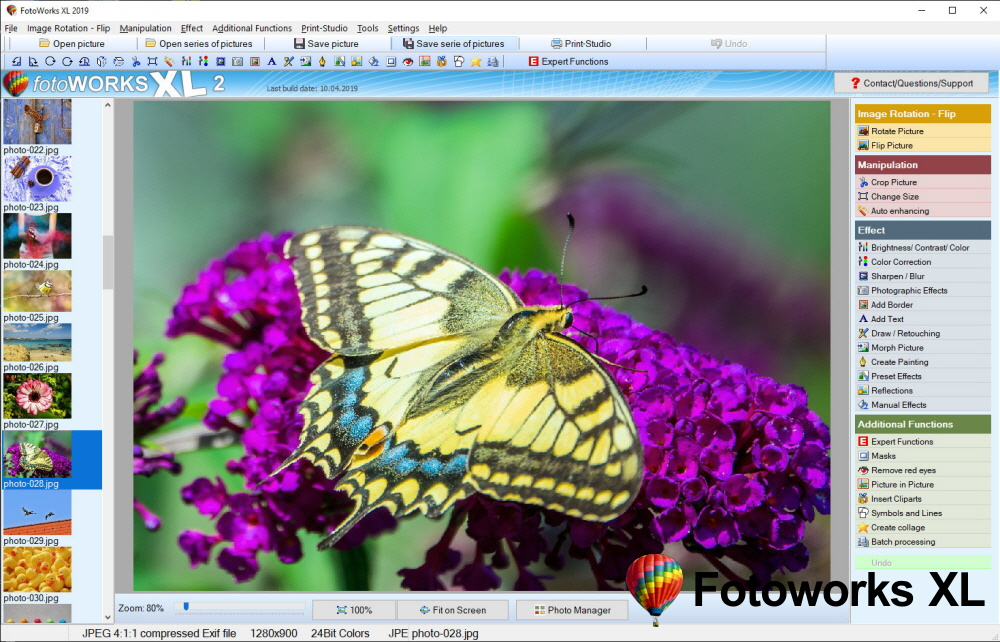 Professional Photo Editing Software or Download Image Editor