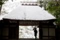 『京都新聞写真コンテスト 静寂-雪の法然院』
