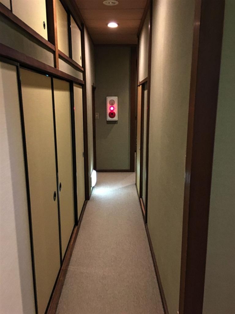木津屋旅館廊下