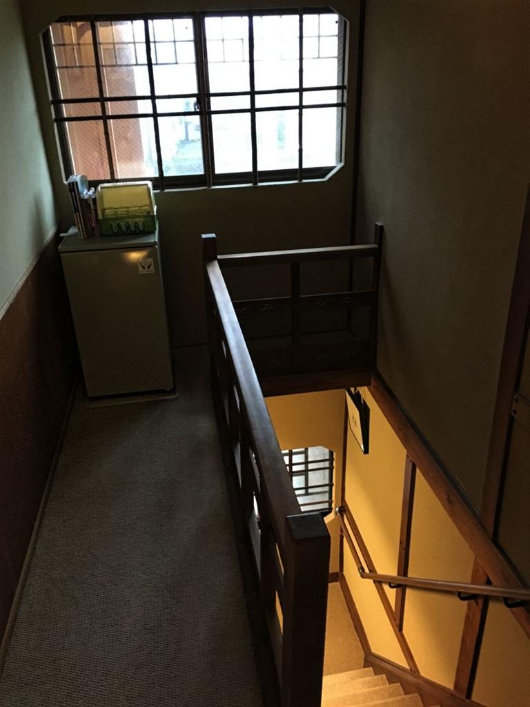 木津屋旅館階段