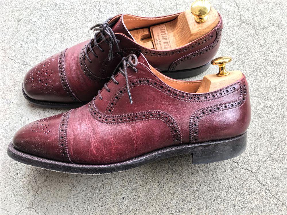 スコッチグレインの靴1