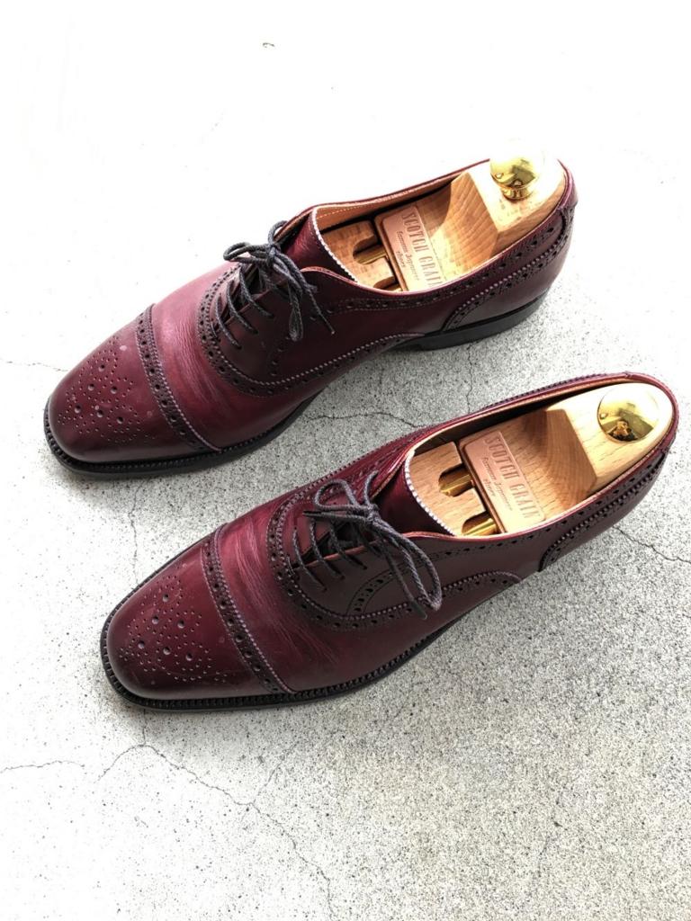 スコッチグレインの靴2