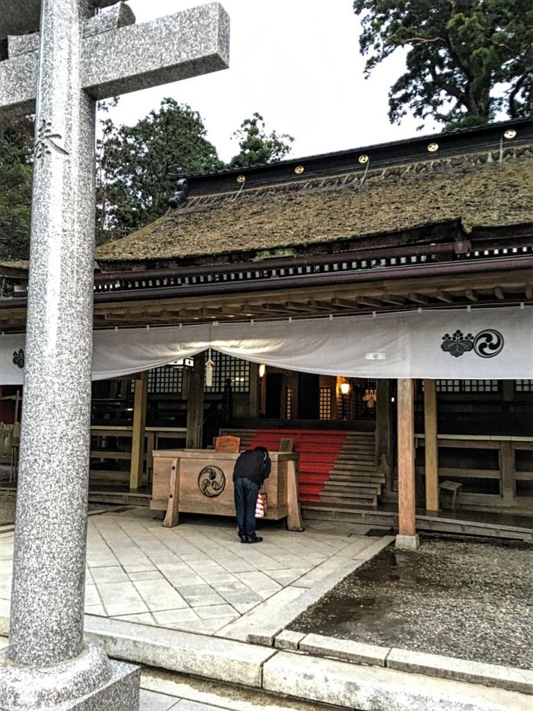 本殿の拝殿