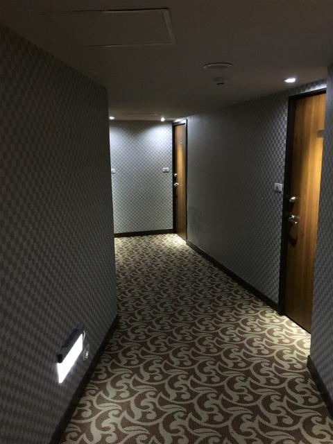 ニューワールドホテル廊下