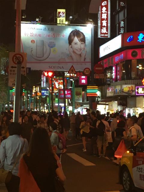 台湾の佐々木希の広告