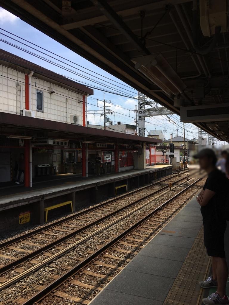 京阪本線伏見稲荷駅
