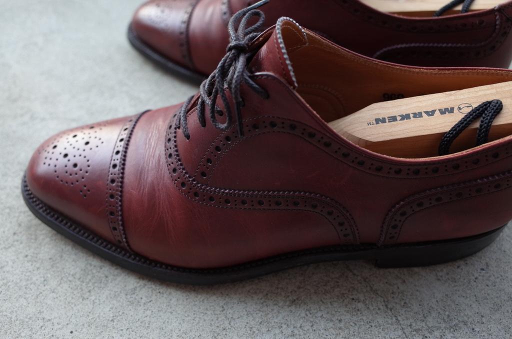 乾燥した靴