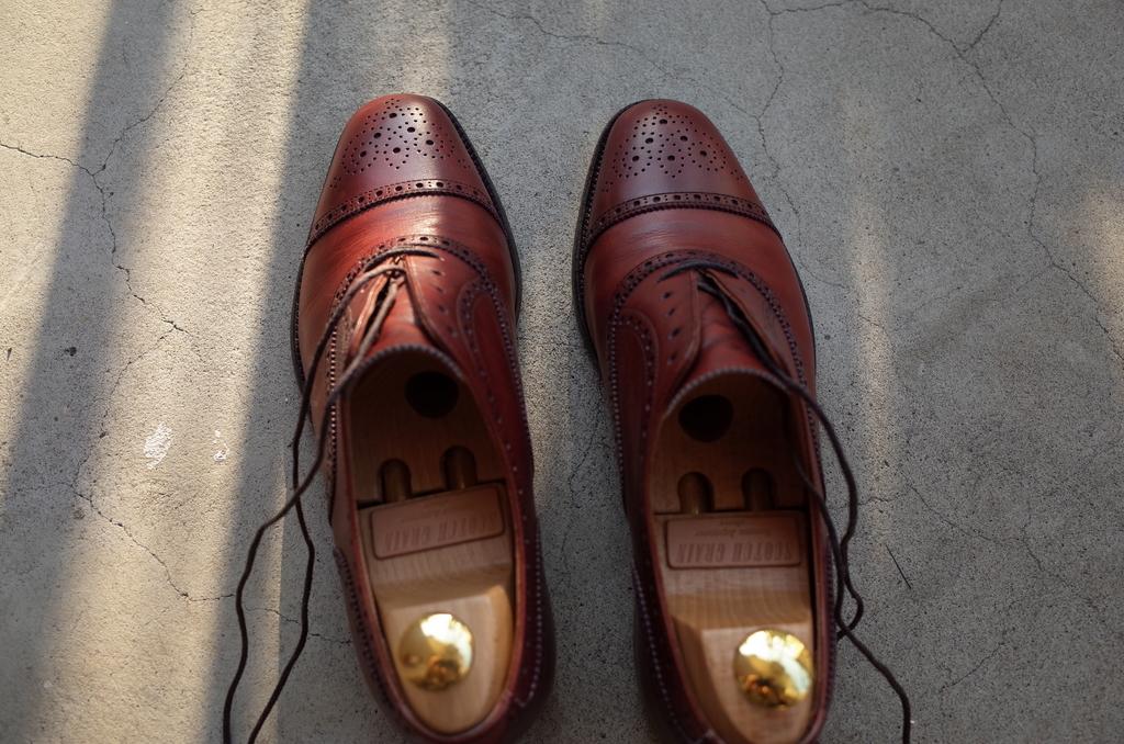 すっぴんの靴