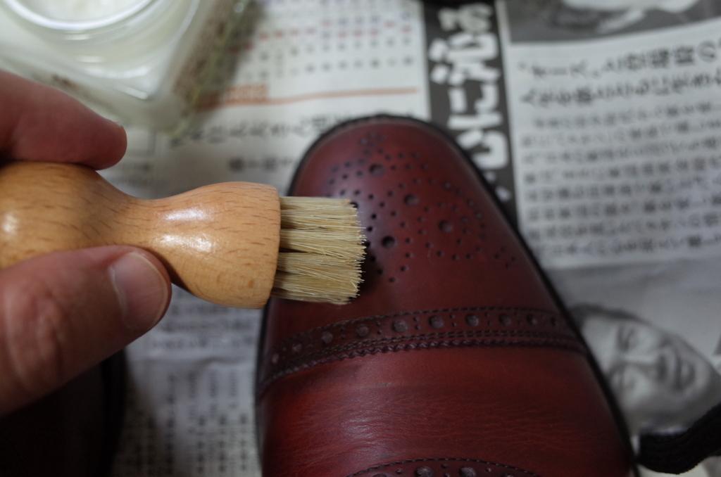 エム・モゥブレィの豚毛ブラシ