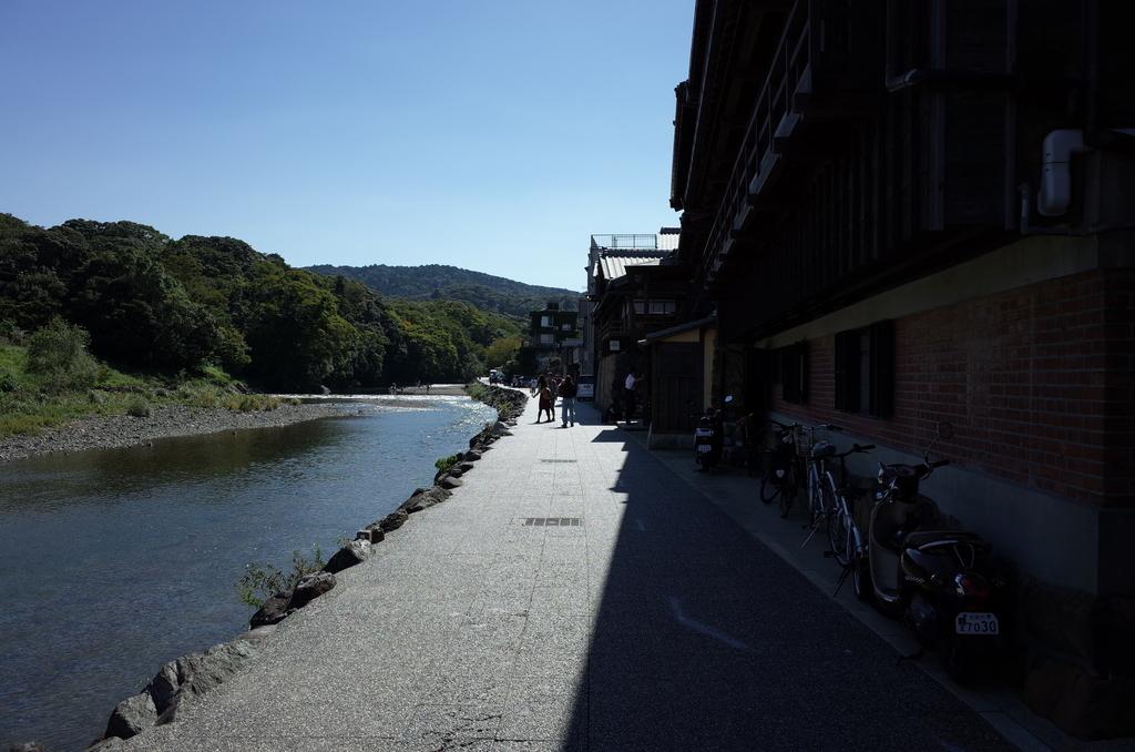 五十鈴川の風景