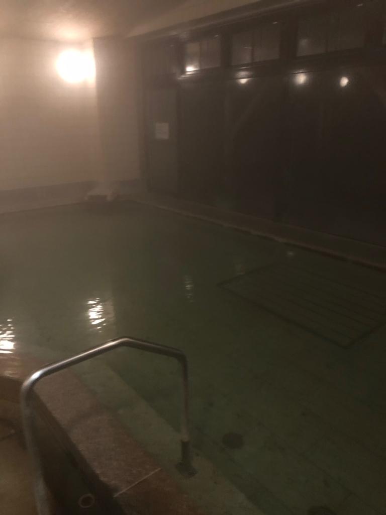 塩原温泉ホテル大浴場(男湯)