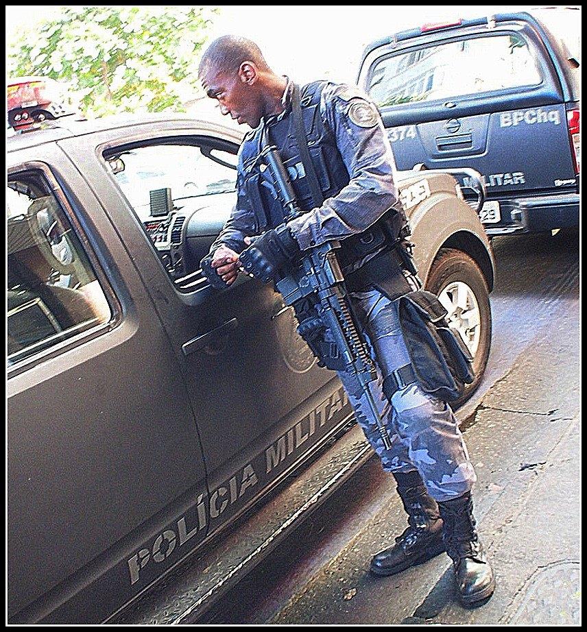 リオデジャネイロの軍警