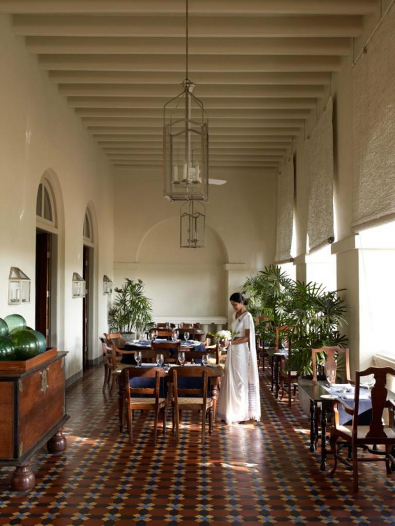 アマンガラのレストラン