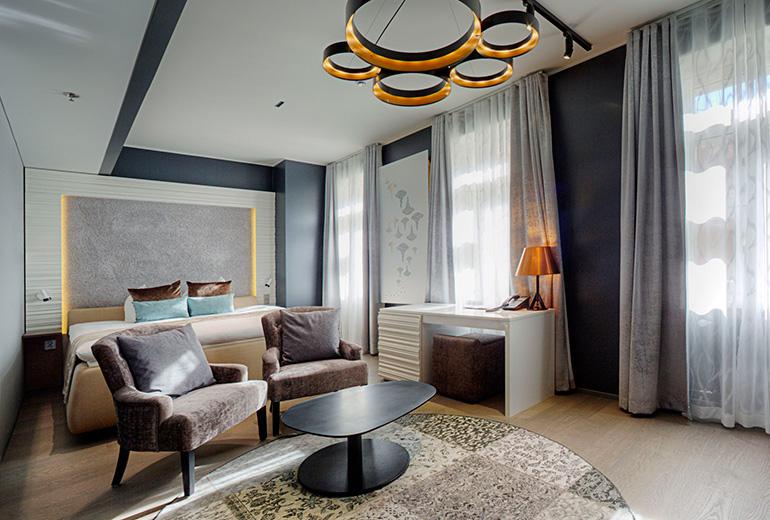 クラウスケーホテルの部屋
