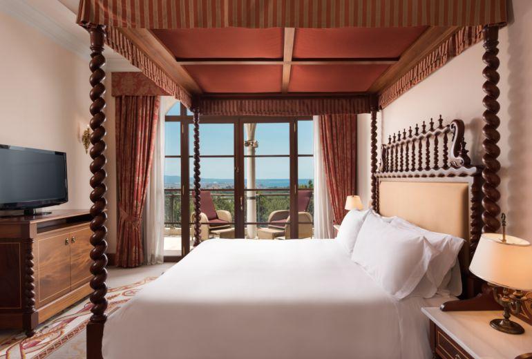 カスティロホテルの部屋