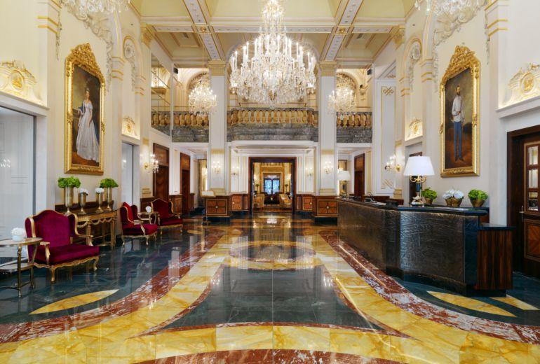 ホテルインペリアルのロビー