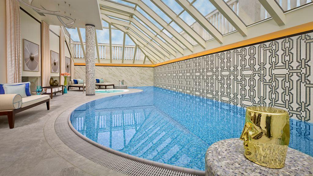リッツカールトンブダペストのプール