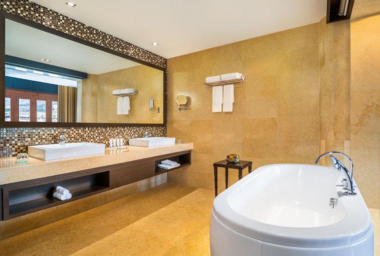 ルメリディアン・パロの風呂