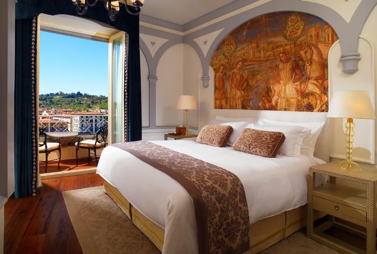 セントレジス・フィレンツェの部屋