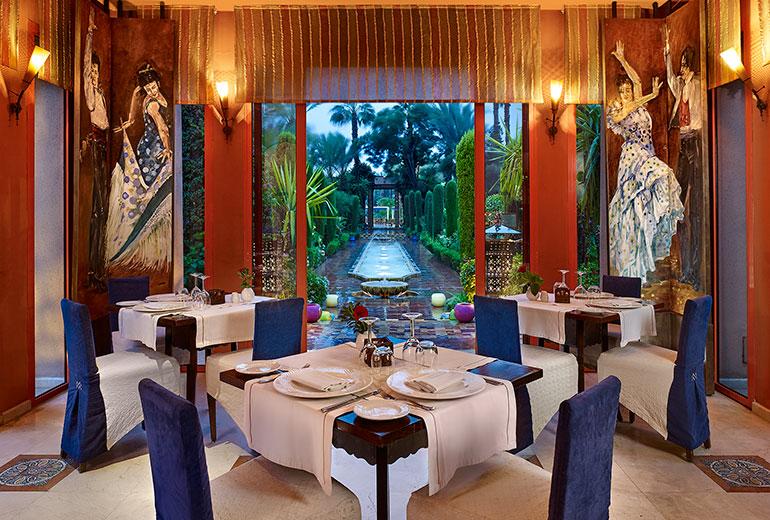 ル・メリディアン・エンフィスのレストラン