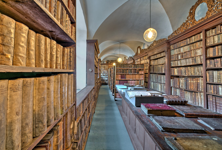 オーガスティン,ラグジュアリーコレクションホテル,プラハの修道院図書館
