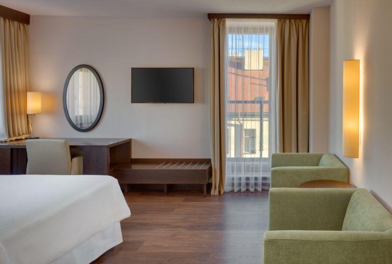 シェラトン・プラハ・チャールズスクエアホテルの部屋