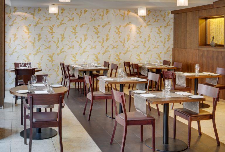シェラトン・プラハ・チャールズスクエアホテルのレストラン