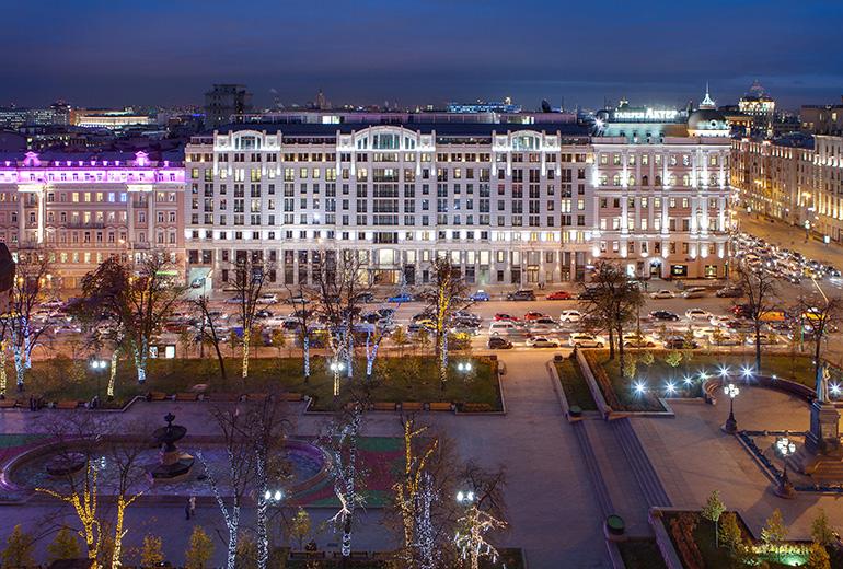 スタンダートホテル・モスクワの外観